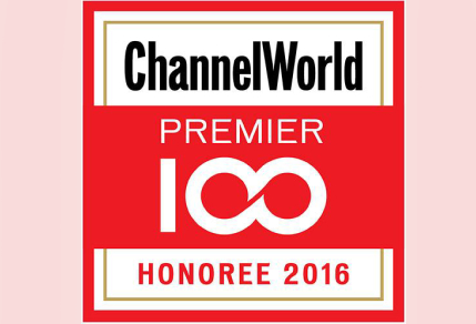 Umbrella recognized as ChannelWorld Premier 100, 2016